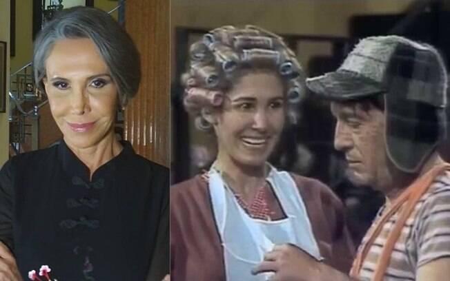 Florinda Meza e Roberto Bolaños