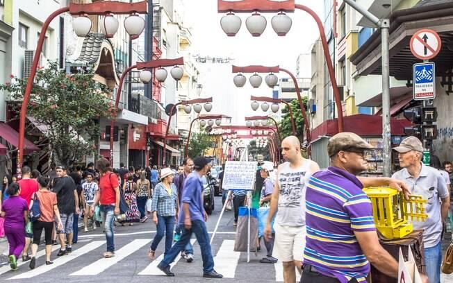 Nos passeios em São Paulo, é indicado incluir uma visita ao bairro da Liberdade que possui fortes influências japoneas