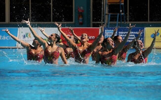 Brasil terá equipe e dueto no nado sincronizado no Rio 2016