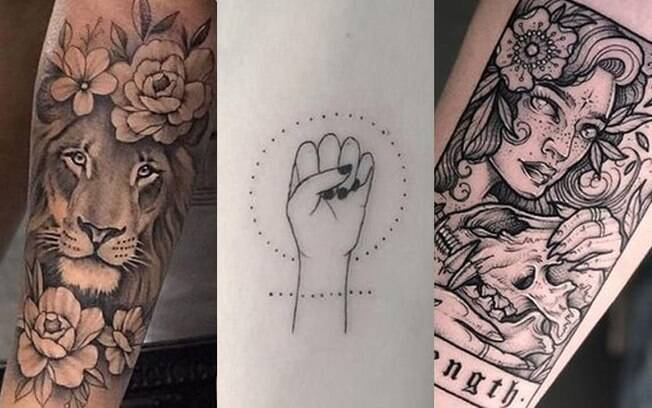 Tatuagens que significam força: 10 modelos lindos para você se inspirar