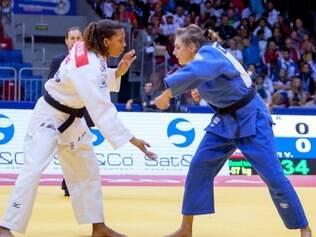 Rafaela Silva disputou a repescagem, mas acabou sem medalha