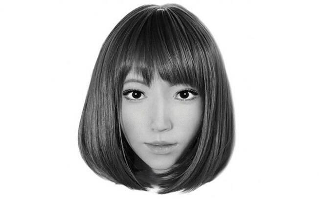 Face de Erica, a robô que será protagonista do filme