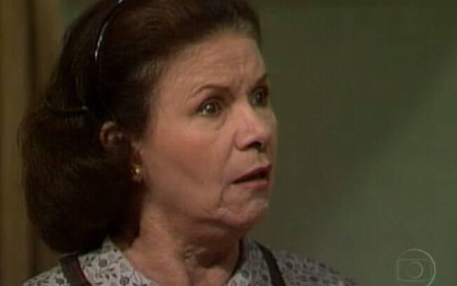 Eloísa Mafalda como a a personagem Gioconda Pontes na novela Pedra sobre Pedra (1992)
