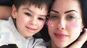 Mãe do menino testa positivo para Covid-19 na prisão