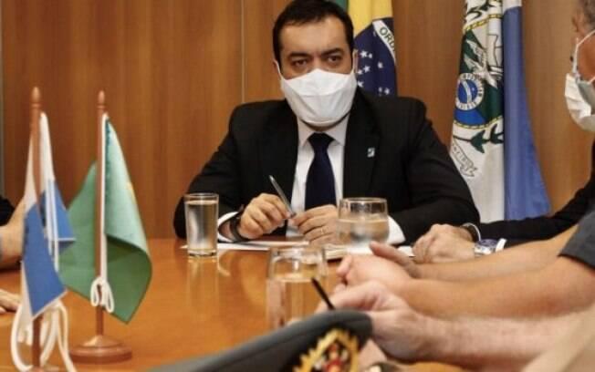 Cláudio Castro já comandou primeira reunião como governador em exercício, com lideranças das secretarias de Segurança Pública