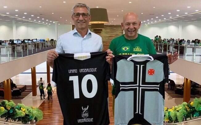 Havan é a nova patrocinadora do Vasco