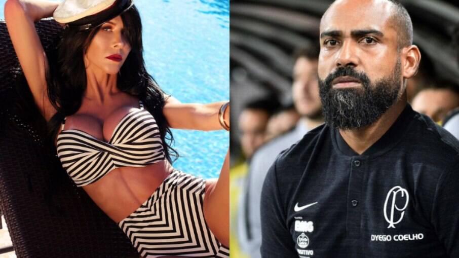 Samella Vinter conta intimidades com Dyogo Coelho, ex-Corinthians