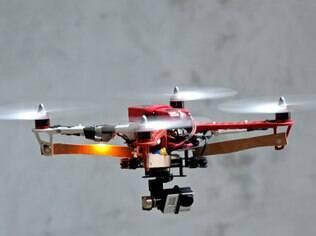 Drone com câmera localizou idoso