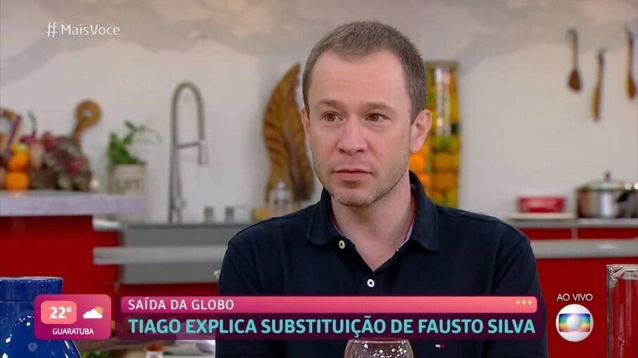 Tiago Leifert falou sobre substituir Faustão