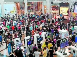 Lotado. As exibições do Museu do Videogame em Campo Grande receberam 450 mil pessoas de todas as idades