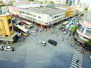 A rua Guaicurus fica no hipercentro da capital mineira e está limitada pela rua Curitiba de um lado e pela praça Rui Barbosa do outro
