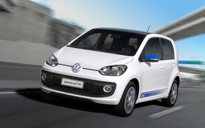 O Volkswagen Up! TSI é o exemplo de carros turbo podem ter bom desempenho e consumir pouco combustível.