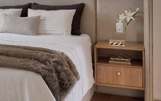 Confira outras dicas para comprar um criado-mudo que seja funcional e fique em harmonia com o restante do cômodo