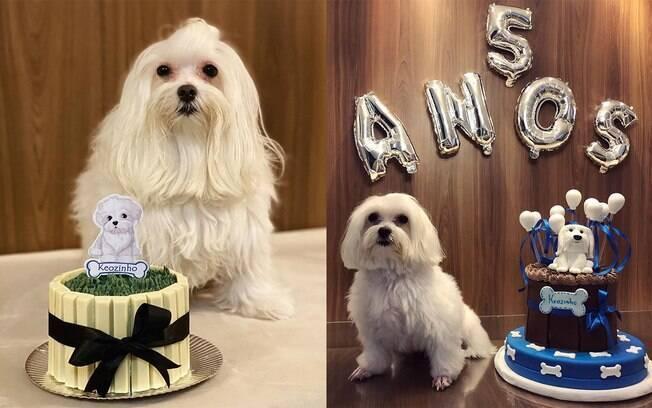 Keozinho ganha uma festa ade aniversário todos os anos