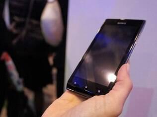 Xperia J, um dos smartphones mais baratos que a Sony levará para o Brasil no primeiro semestre