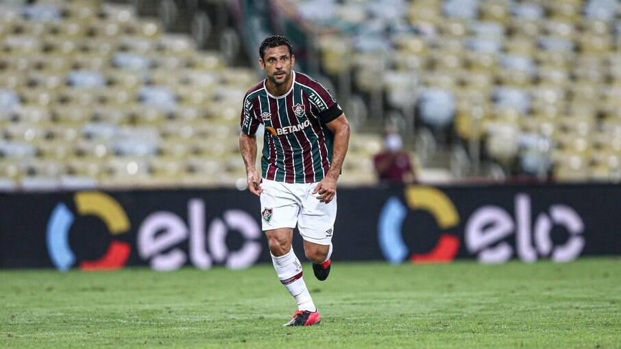 Fred marcou na vitória do Fluminense sobre o Bragantino