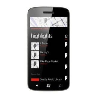 Busca por localização do Bing em um Windows Phone