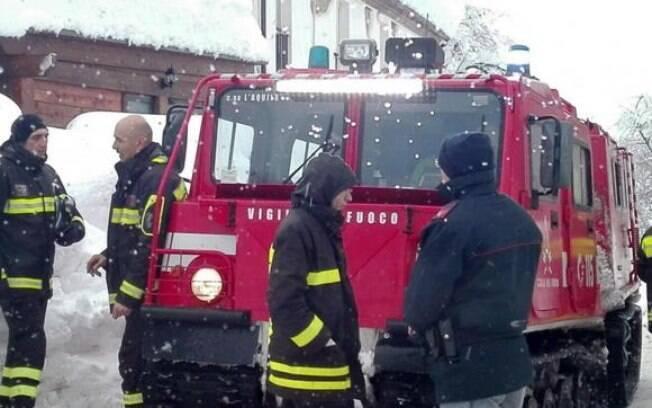 Avalanche atingiu hotel na cidade de Farindola, na Itália. Ao todo, 29 pessoas morreram e 11 ficaram vivas