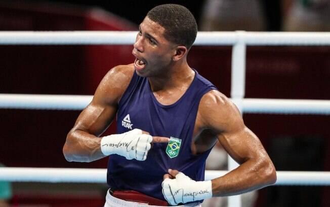 Hebert Conceição faturou o ouro no boxe