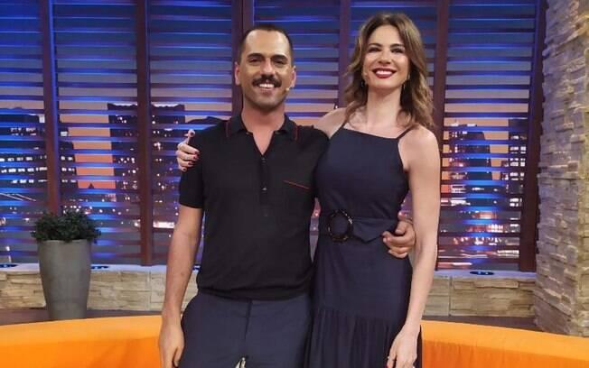 Filho de Edmundo foi entrevistado pela apresentadora Luciana Giménez