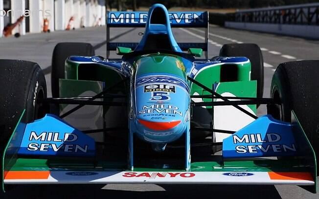 Michael Schumacher ganhou seu primeiro título de F1 com a Benetton B194