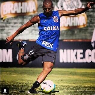 Sheik treinando pelo Corinthians