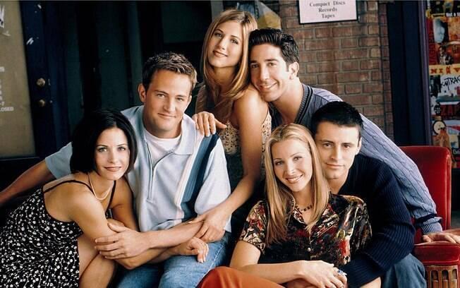 Série 'Friends' mostra exemplos de amizades verdadeiras e longas