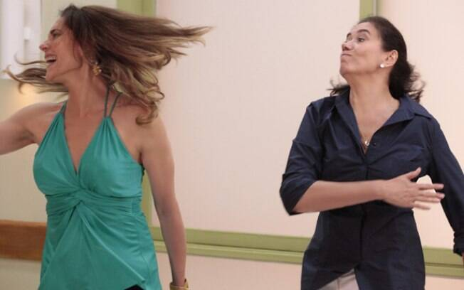 Griselda dá tapa na cara de Tereza Cristina em