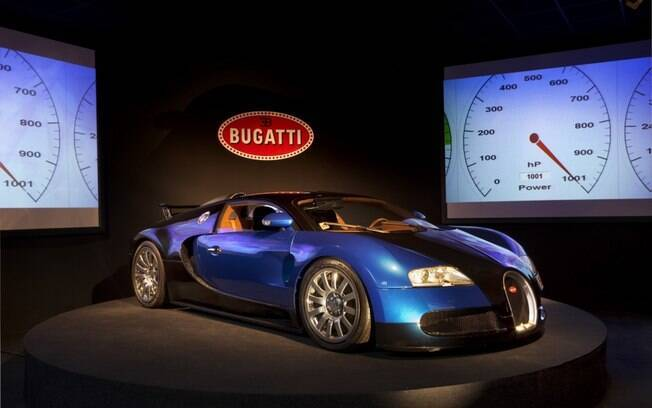 Museu da Bugatti: superesportivo Veyron ficou marcado na história como o modelo que superou a marca dos 400 km/h