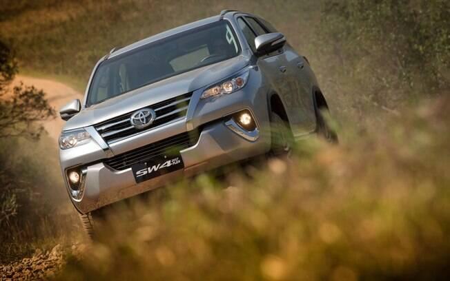 Toyota SW4: apesar de ser um dos últimos SUVs raiz, ocupa uma ótima colocação no ranking de depreciação