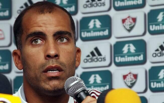 Felipe estava no Vasco e agora é jogador do  Fluminense