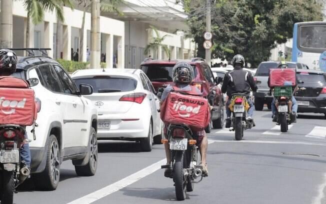 Motoristas de app protestam em Campinas por valor de viagem e segurança