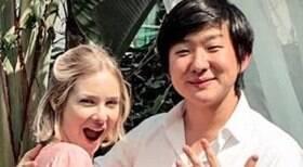 Sammy e Pyong Lee são vistos juntos em shopping