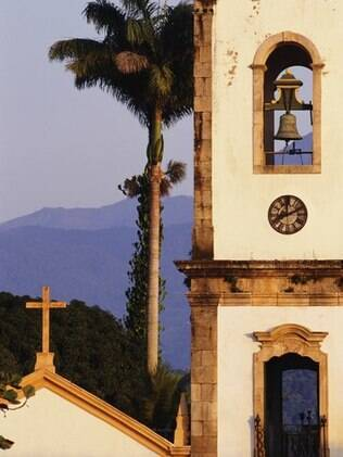 Igreja histórica de Paraty