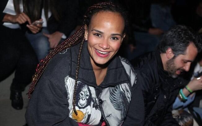 Luciana Mello no SPFW nessa quarta-feira (30)