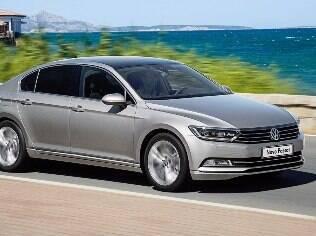VW exibe o novo Passat no Brasil