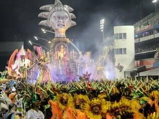 Desfile da Unidos do Peruche, campeã do Grupo de Acesso de São Paulo