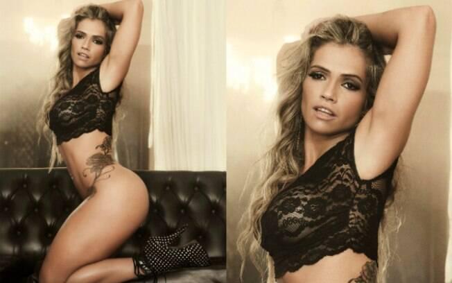 Fani Pacheco na 'Sexy' de maio