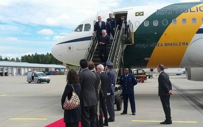 Michel Temer chegou nesta quinta-feira à Noruega para buscar investimentos e discutir questão ambiental