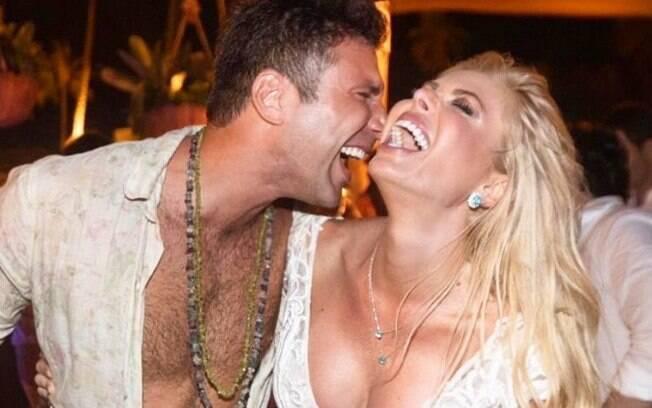 Diego Rodrigues e Caroline Bittencourt