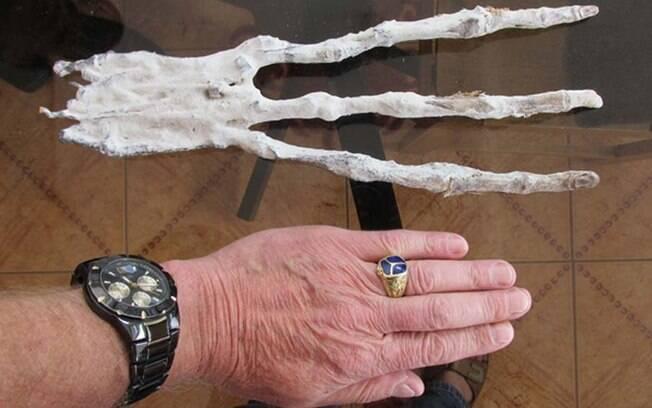 A múmia, encontrada na cidade peruana de Nazca, está intrigando cientistas de todo o mundo
