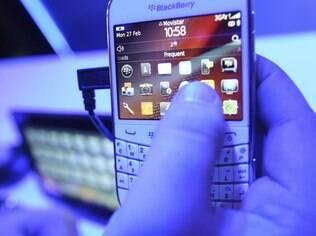BlackBerry começa a sofrer pressão de outros fabricantes, como Samsung e Nokia
