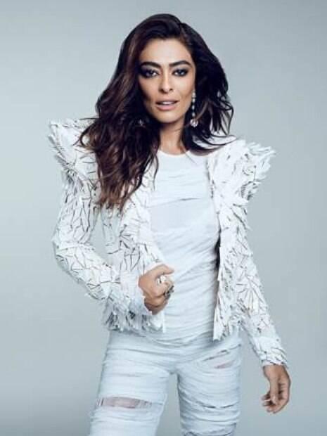 Juliana Paes é capa da revista Cidade Jardim