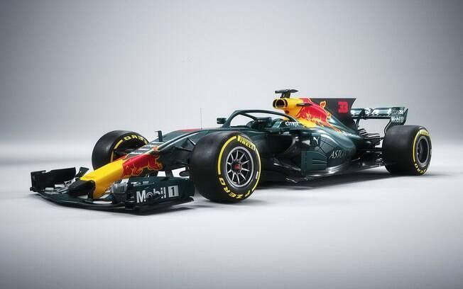 O novo Aston Martin Red Bull junta-se a Mercedes-Benz e Ferrari as equipes favoritas ao título da Fórmula 1 em 2018