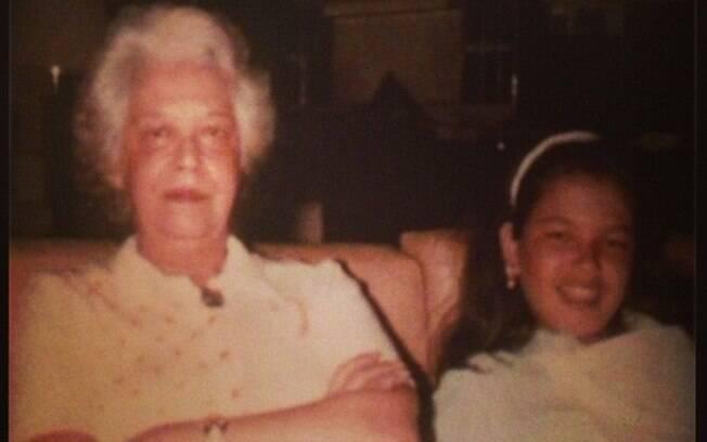 Luciana Gimenez lembrou também de sua avó: 'Vovó, você foi tudo, #saudades'