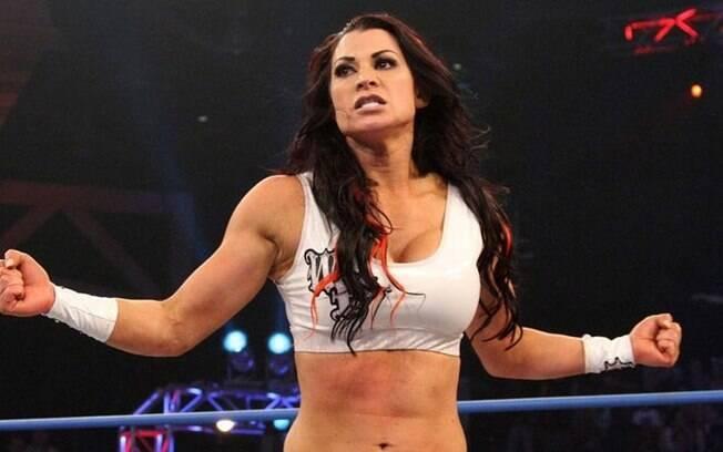 Lisa Marie Varon em ação como Victoria no WWE