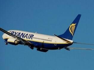 Voo era da Ryanair em Krakow (Polônia) com destino a Dublin (Irlanda).