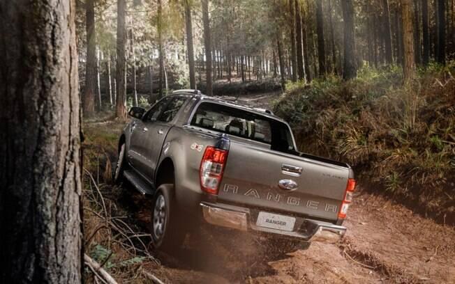 Ford Ranger 2020 tem como destaque o torque elevado, que favorece o transporte de cargas