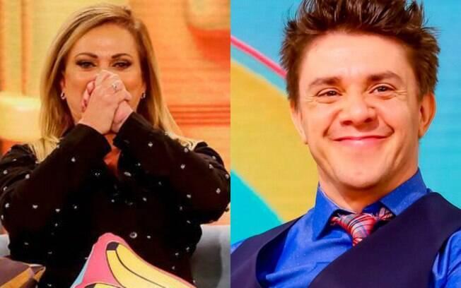 Christina Rocha se irrita com piada de Oscar Filho