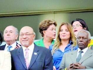 Dilma Rousseff foi vaiada na abertura da Copa, em 12 de junho